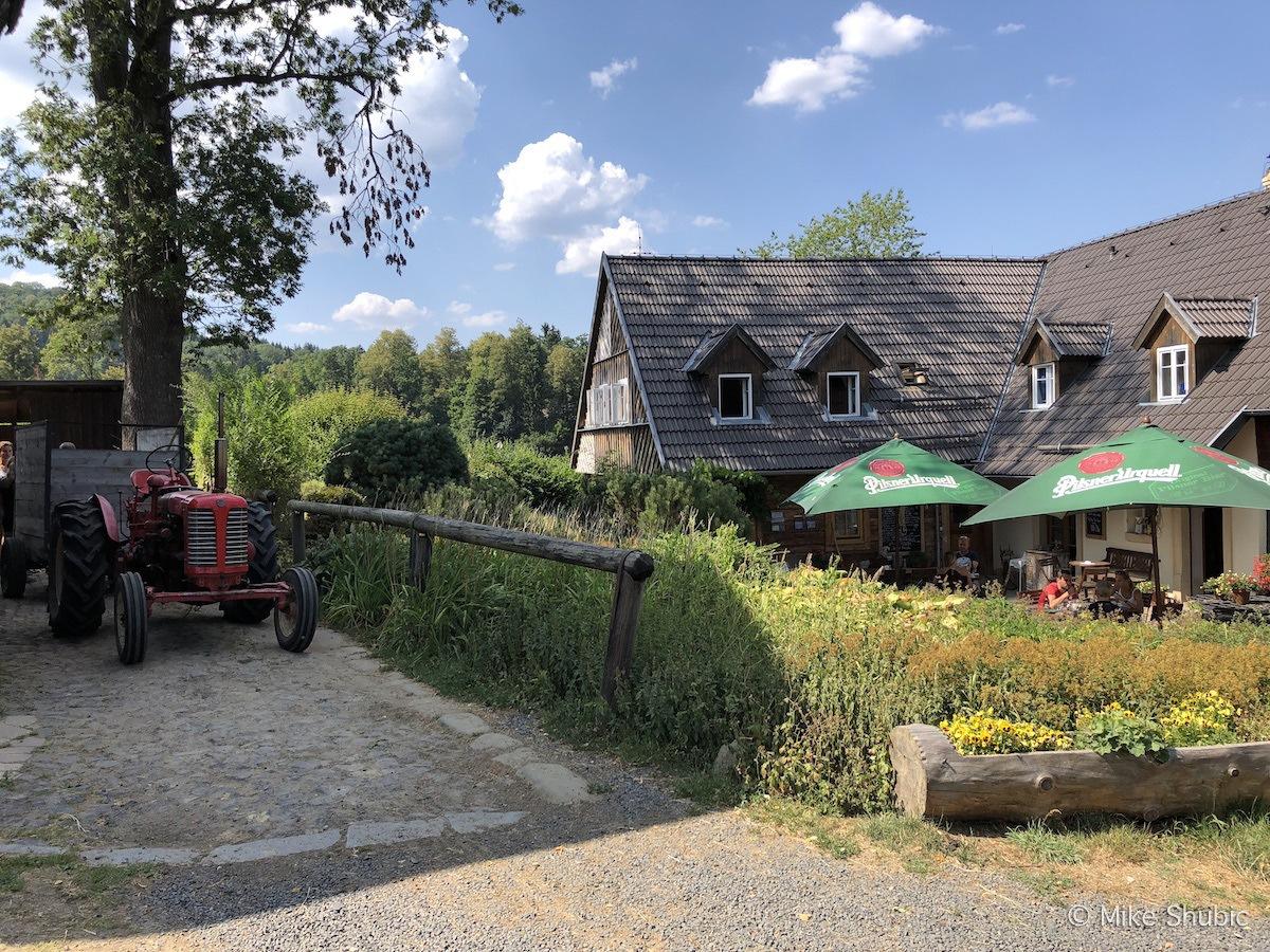 Na Stodolci restaurant in Bohemian Switzerland by MikesRoadTrip.com