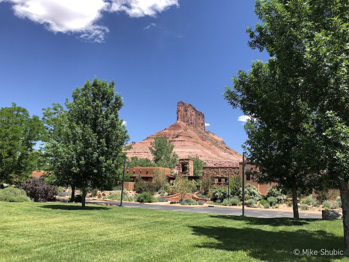 Stopped by Gateway Canyons Resort on Southwest road trip by MikesRoadTrip.com