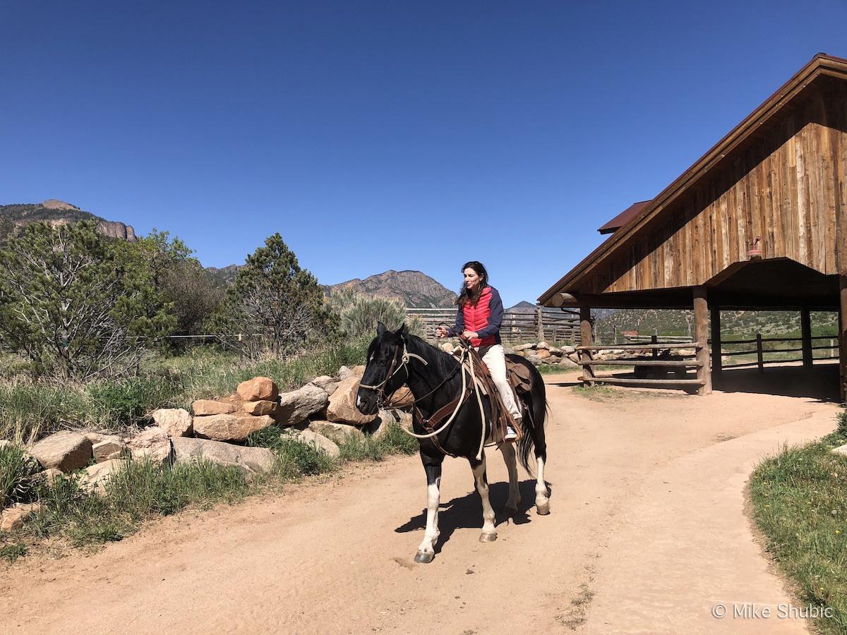 Gateway Canyons horseback riding by MikesRoadTrip.com