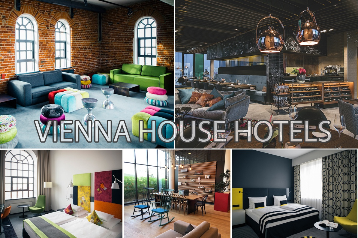 Vienna House Hotels collage by MikesRoadTrip.com