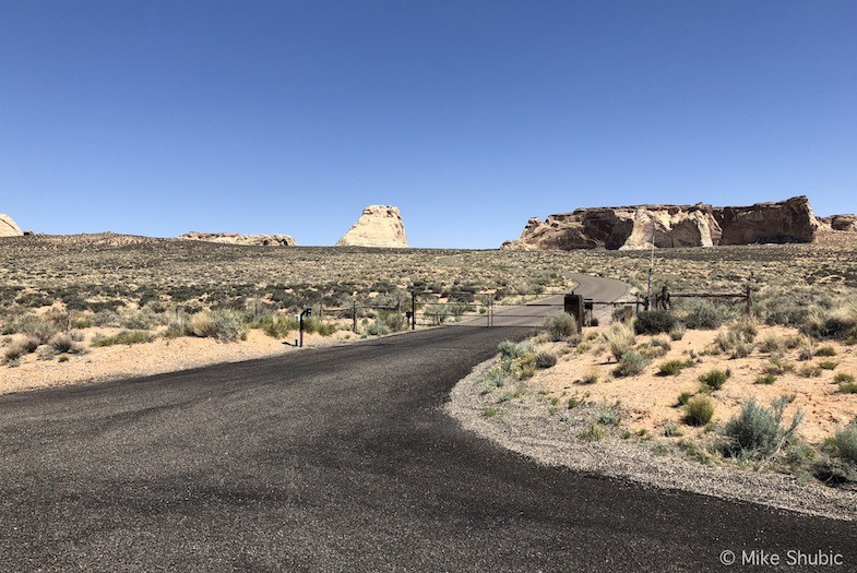 Entrence to Amangiri by MikesRoadTrip.com