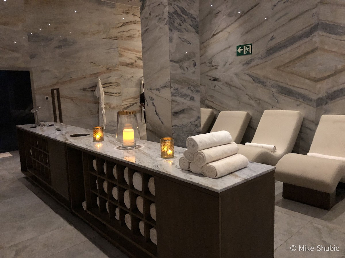 Grand spa experience