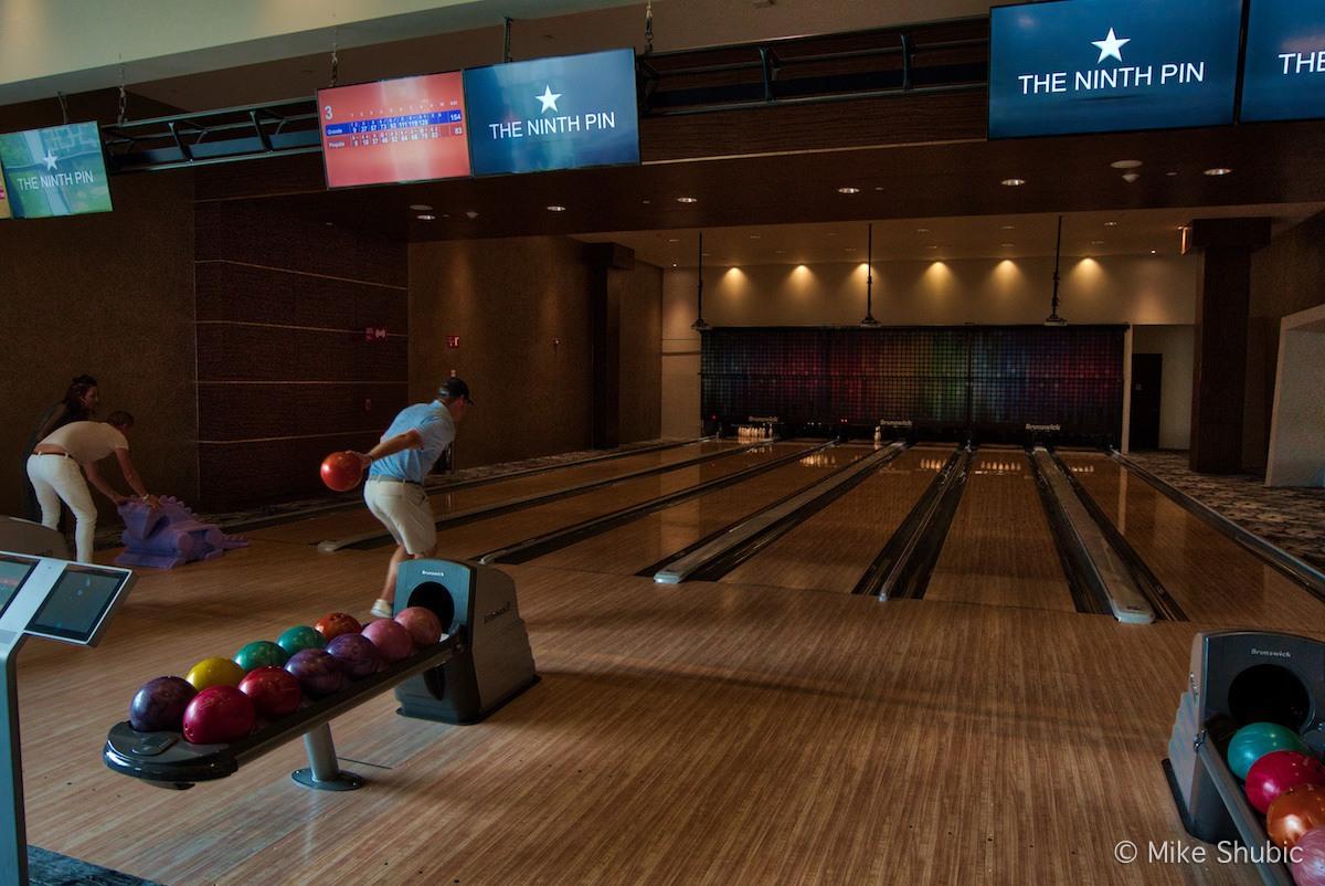 Bowling at the Grand at Moon Palace by MikesRoadTrip.com