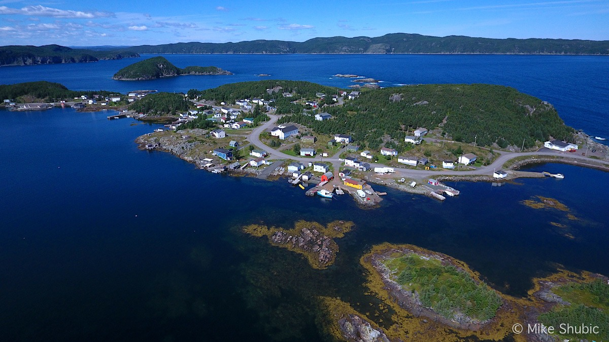 Viking Trail in Central Newfoundland is a scenic road trip on the eastern side of Canada. Photo by: MikesRoadTrip.com