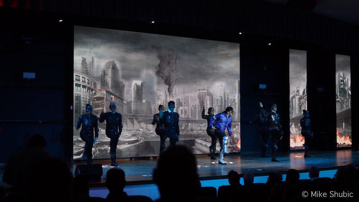 Michael Jackson performance at The Grand at Moon Palace
