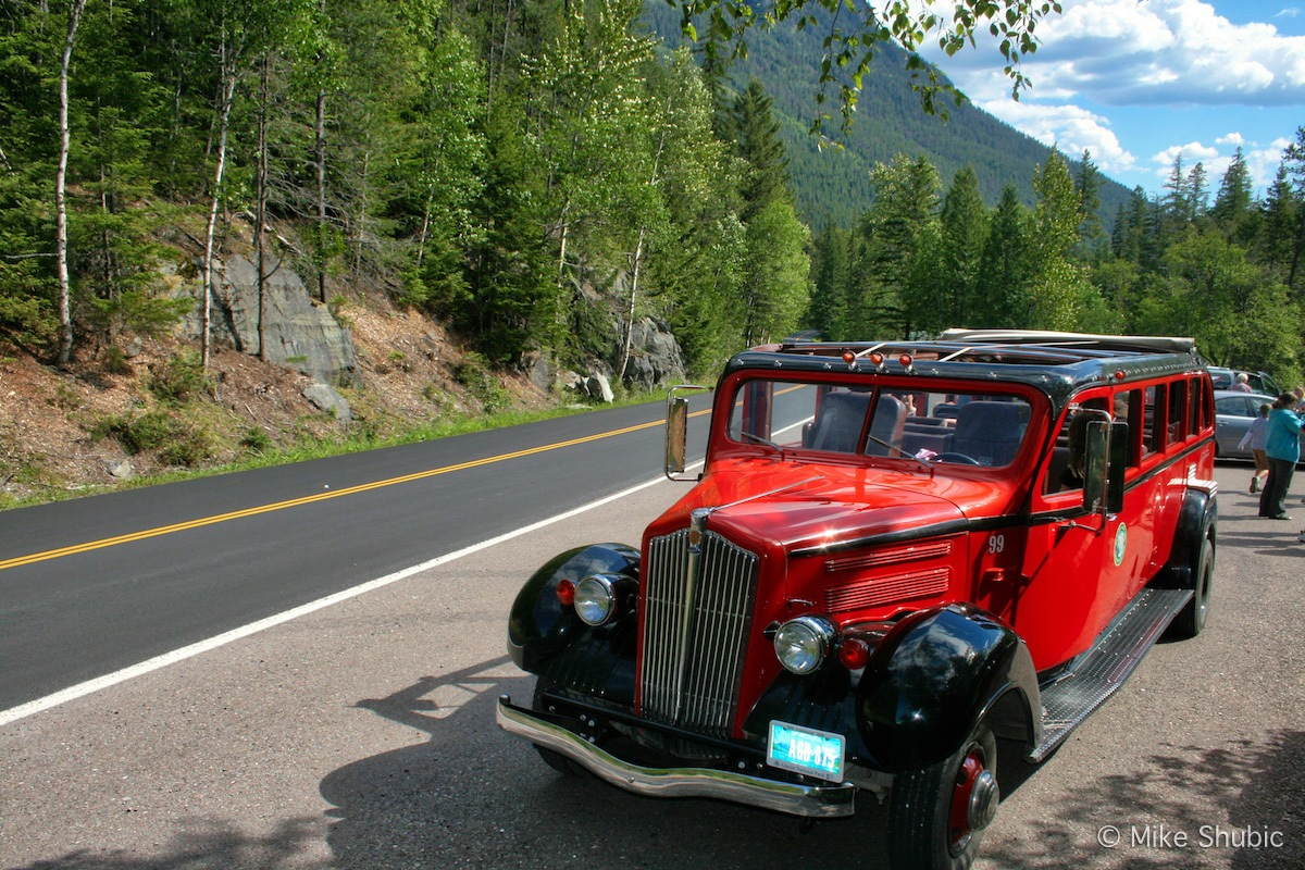 the-Sun Road in Montana is one of the most scenic roads in the northern part of the U.S.