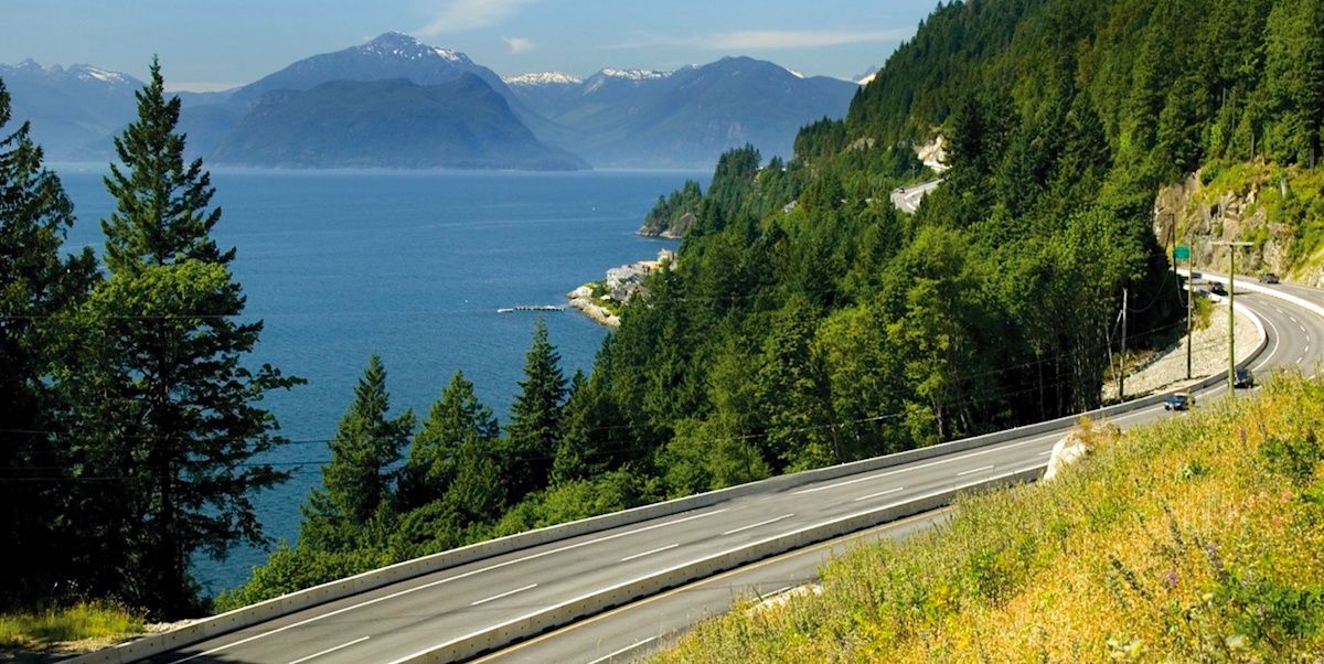 Vancouver's Sea To Sky is one of the most scenic roads in the world