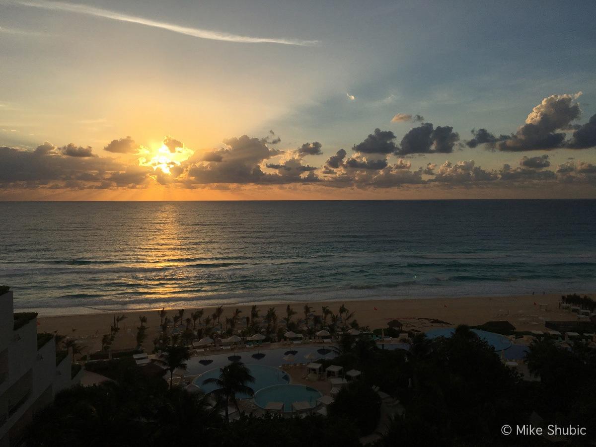 Quintana Roo Sunrise by MikesRoadTrip.com