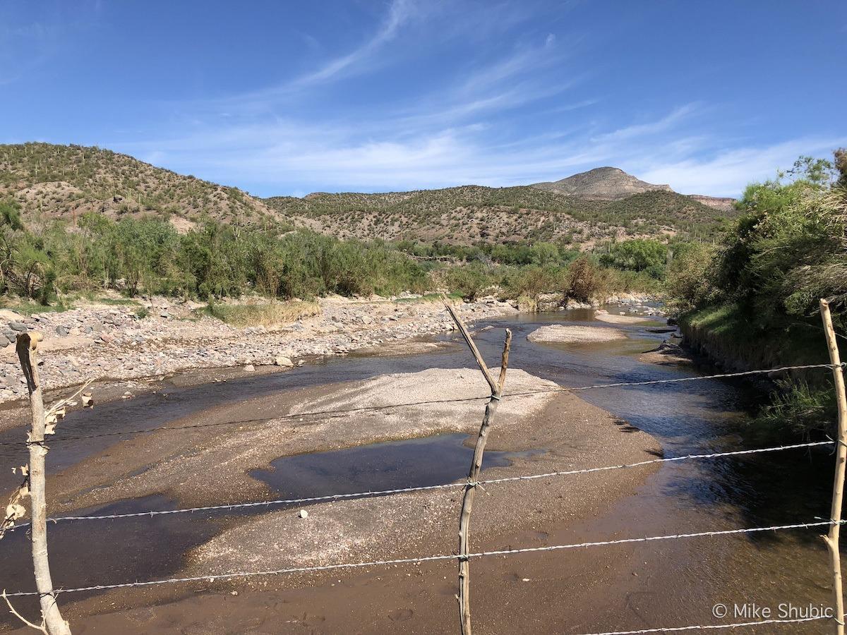 Aravaipa creek by MikesRoadTrip.com