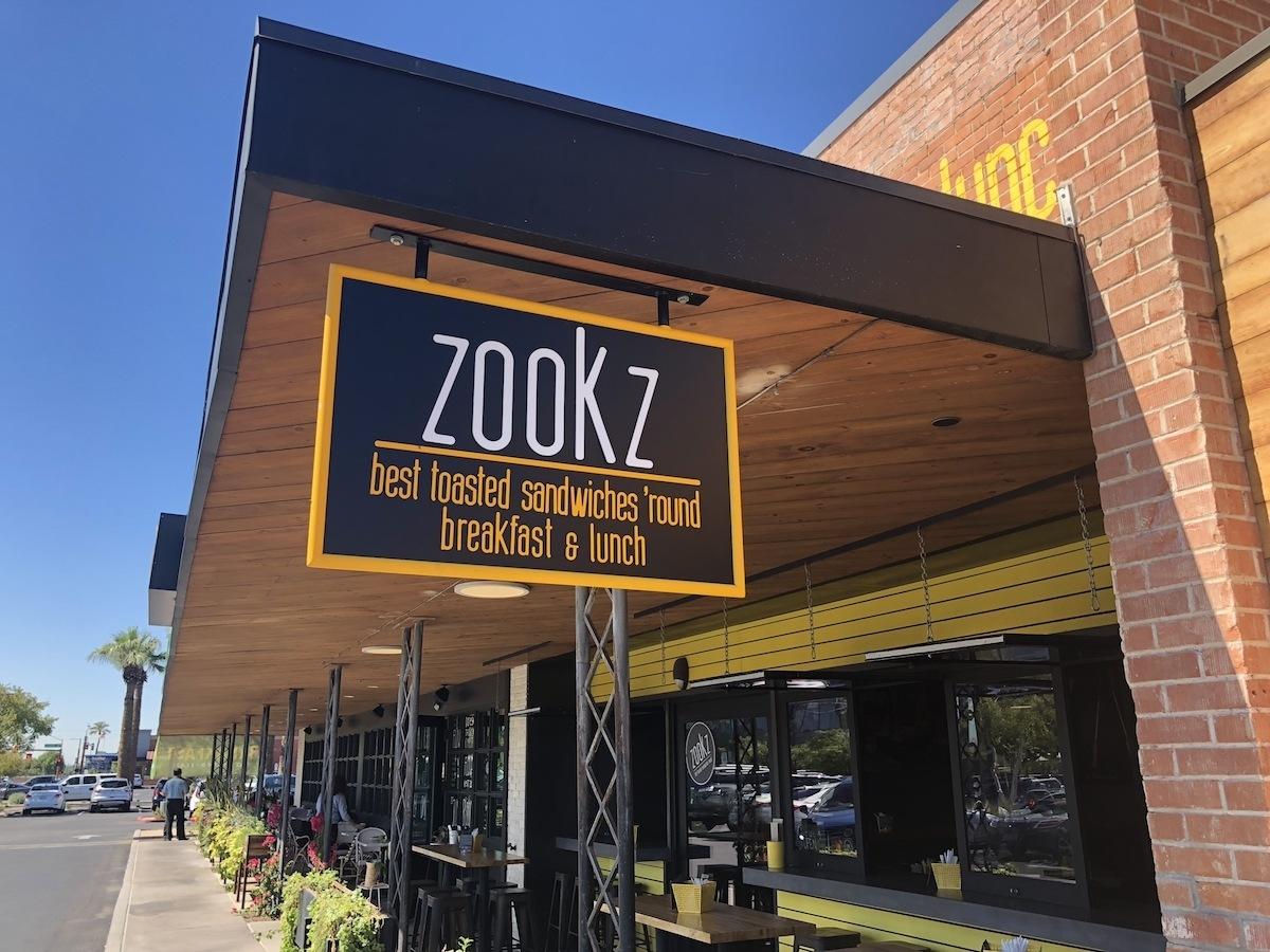 Zookz sandwiches in Updown Phoenix exterior photo by MikesRoadTrip.com