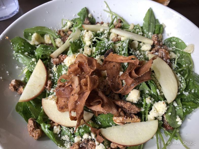 Salad at Jolly Pumpkin by MikesRoadTrip.com
