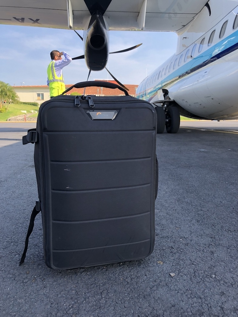 Lowepro Photostream RL 150 Roller Camera Bag was one of my favorite pieces of luggage for 2018. Photo by: MikesRoadTrip.com