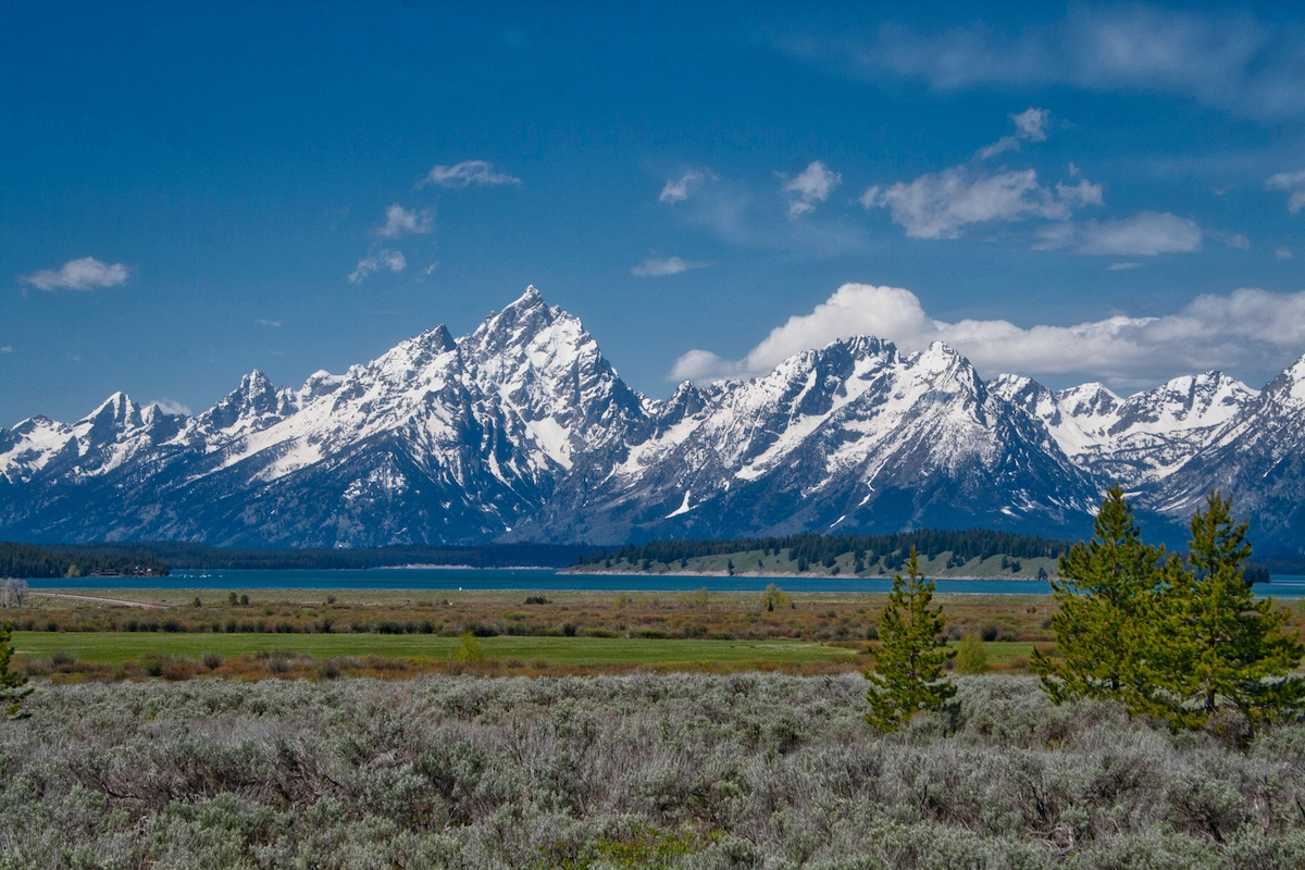 Visit Wyoming and see the Grand Teton's. Photo by: Mike Shubic