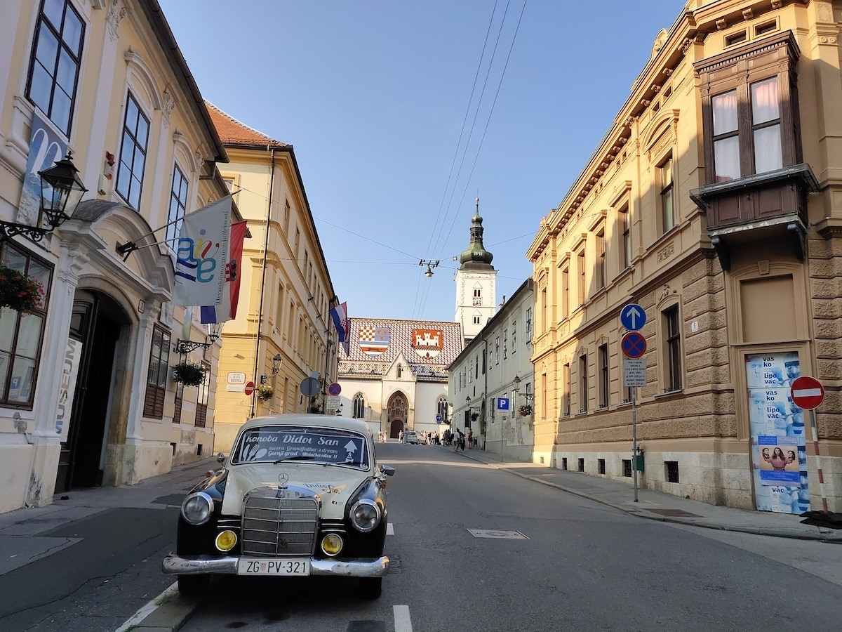 Don't miss Zagreb old town on a Central Europe road trip