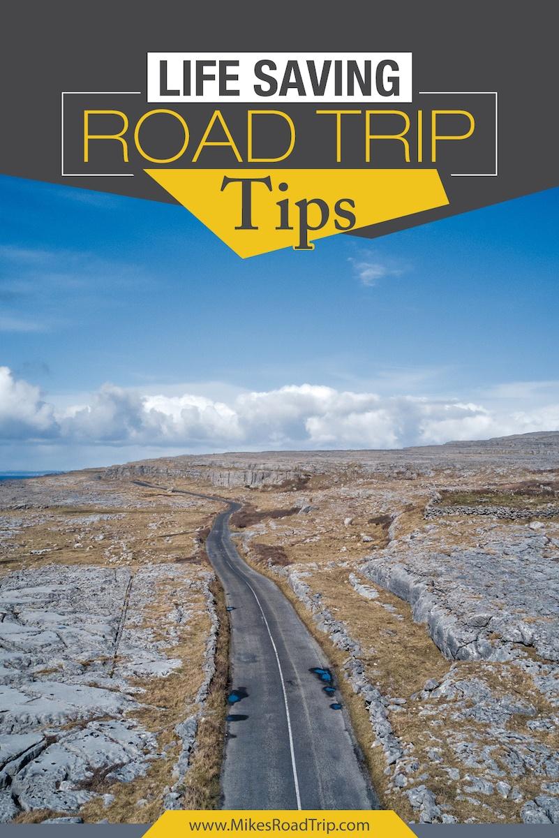 Live Saving Road Trip Tips Pinterest Pin 2 by MikesRoadTrip.com
