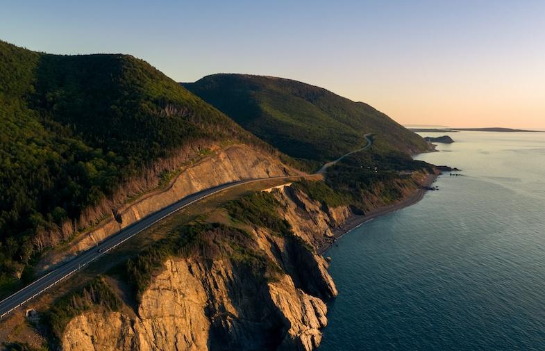 Cabot Ttrail in Nova Scotia one of the most scenic roads in Canada
