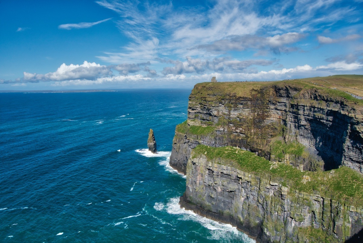 Travel to Ireland to see the Cliffs of Moher. Photo by: Mike Shubic of MikesRoadTrip.com