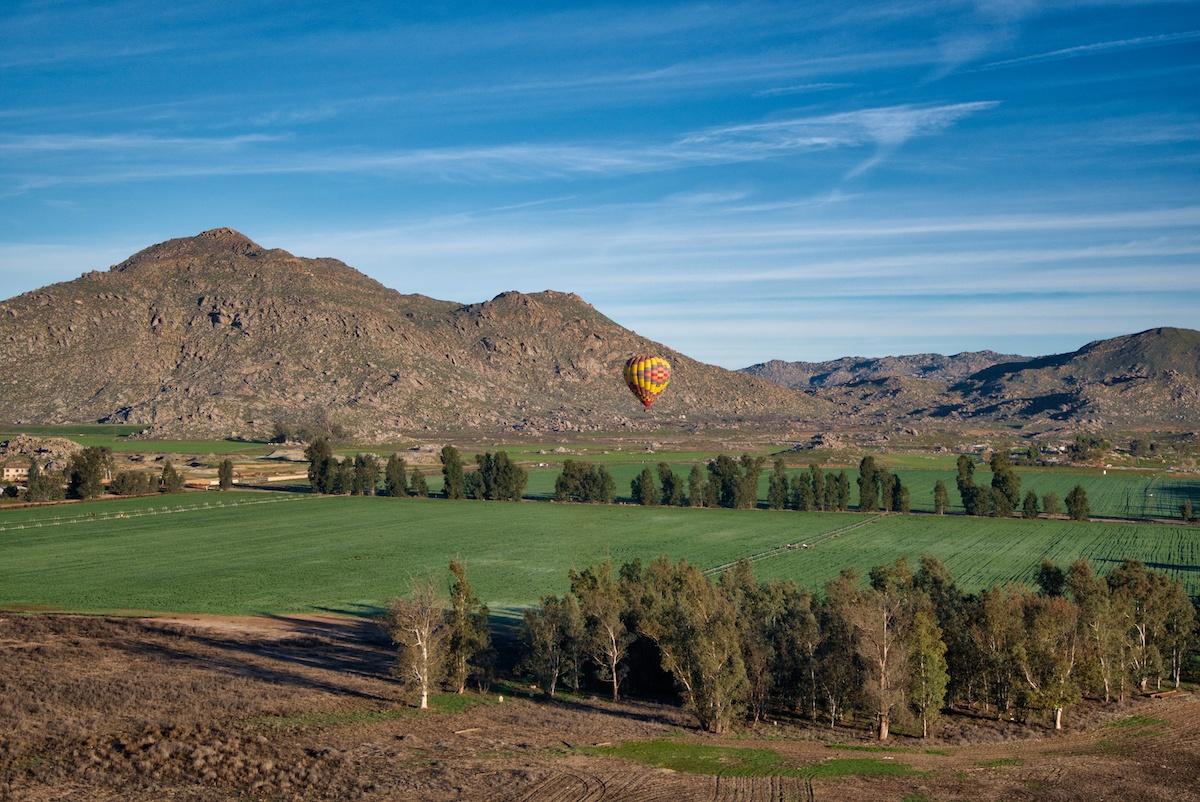 Temecula Hot Air Balloon by Mike of MikesRoadTrip.com