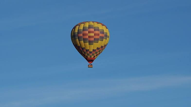 Hot air ballooning with California Dreamin' in Temecula Valley California
