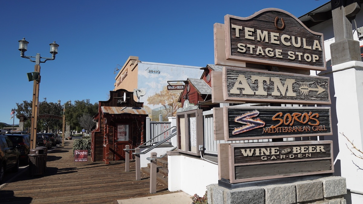 Old Town Temecula. Photo by: Mike of MikesRoadTrip.com