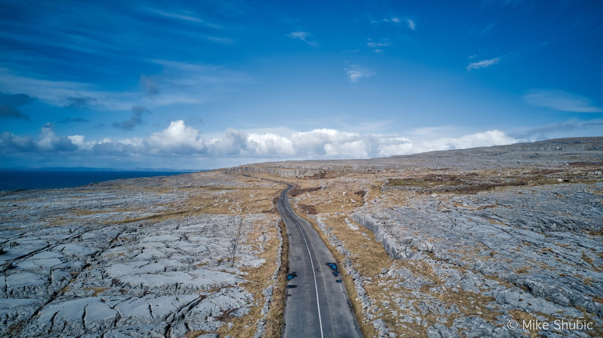 One of the most scenic roads in Ireland runs through the Burren. Photo by MikesRoadtrip.com