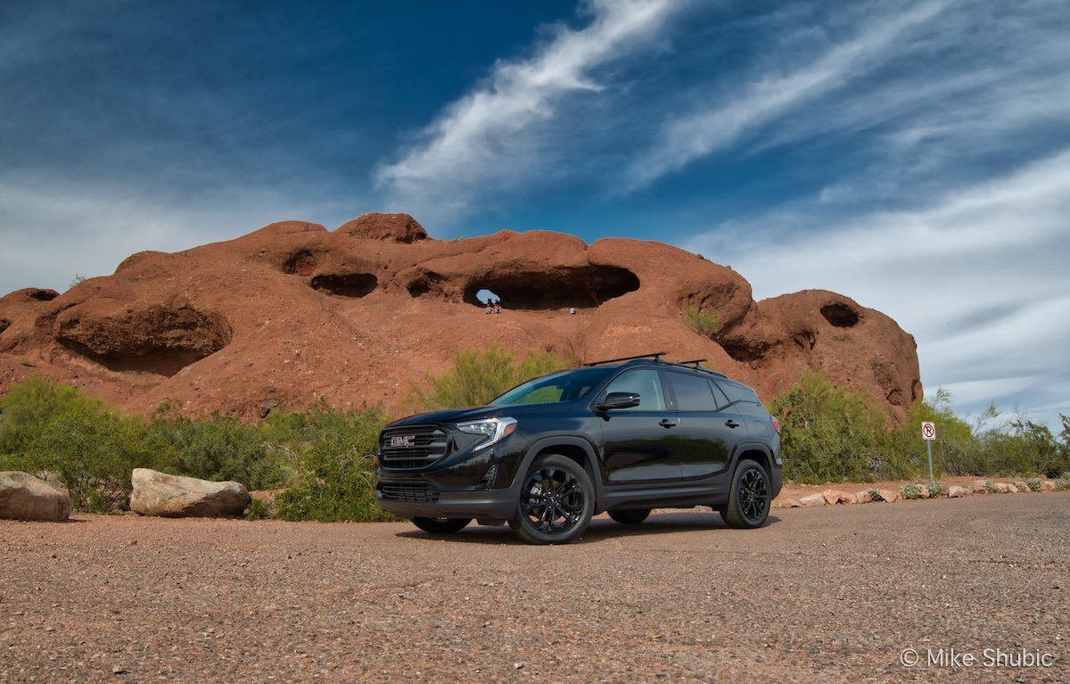 GMC Terrain at Papago Buttes. Photo by: Mike Shubic of MikesRoadTrip.com