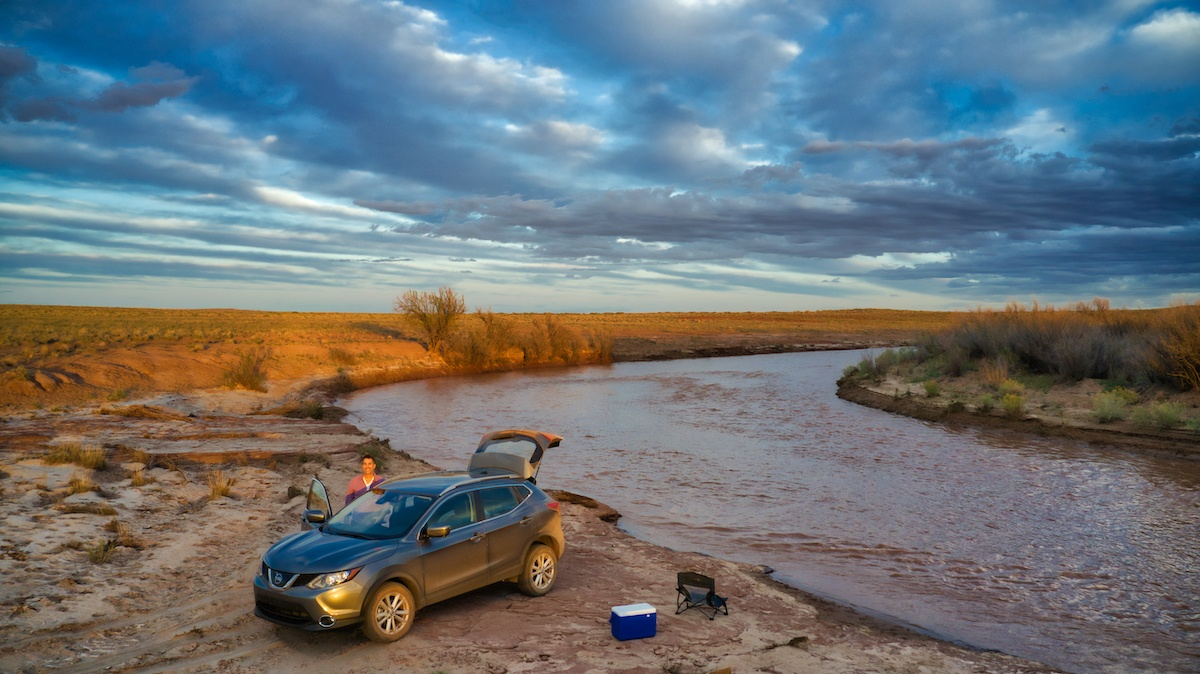 Little Colorado River with Nissan Rogue by Mike of MikesRoadTrip.com