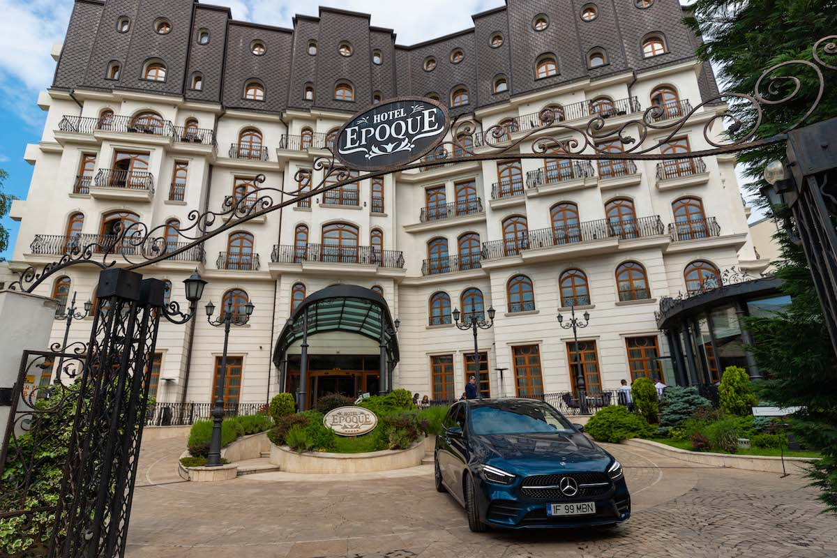 Romania Road Trip in Bucharest at Epoque Hotel in the all new B-Class by Mercedes-Benz Romania - Photo by Mihalea Popa of WorldTravelBug.com