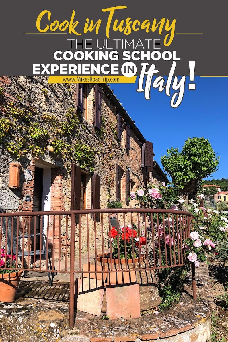 Cook in Tuscany hotel La Chiusa