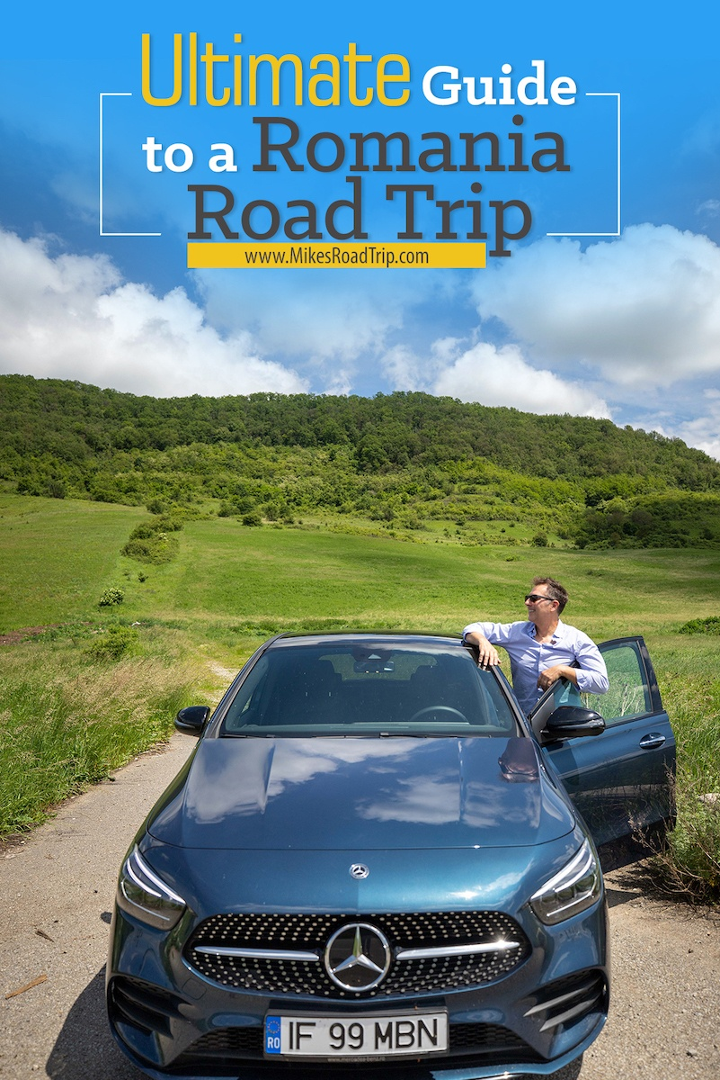 Romania Road Trip Itinarary - complete with route suggestions, destinations and lodging options. #romania #romaniaroadtrip #roadtripromania #ravel #roadtriptravel #travelromania #visitromania