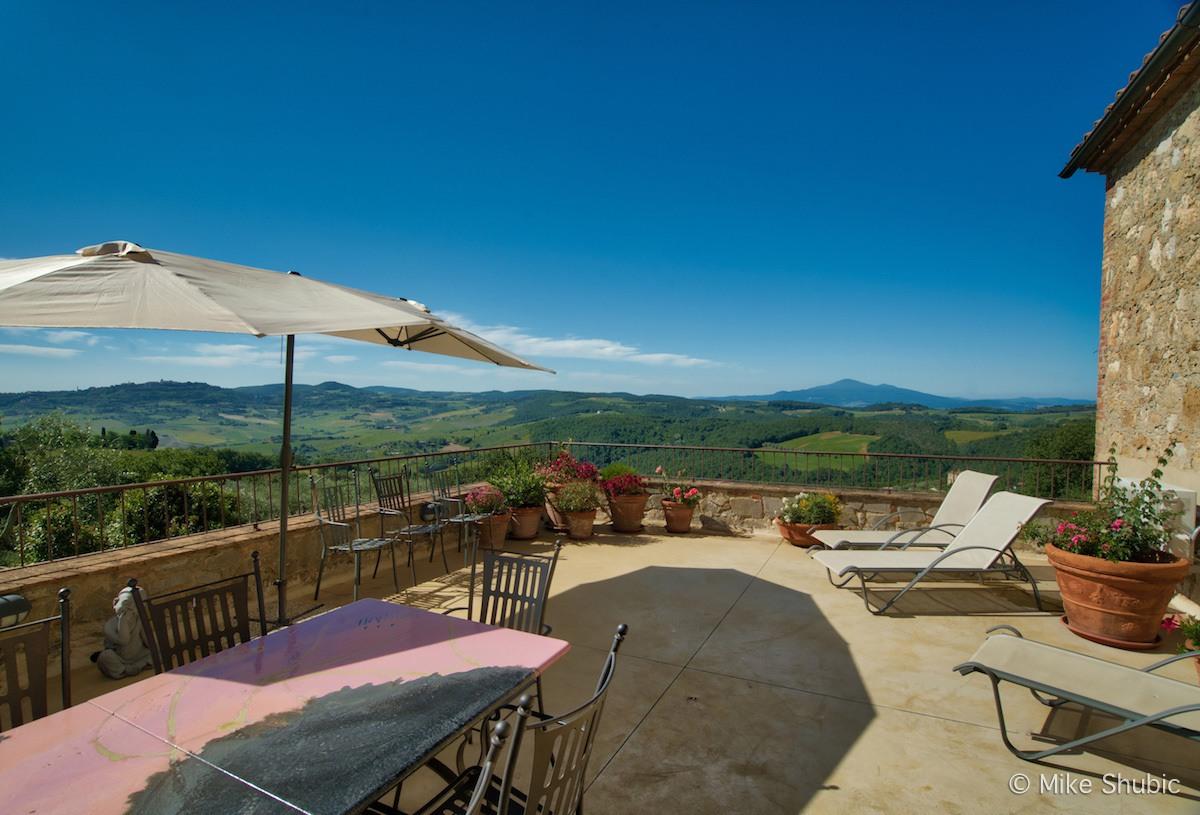 View from terrece at La Chisua by MikesRoadTrip.com