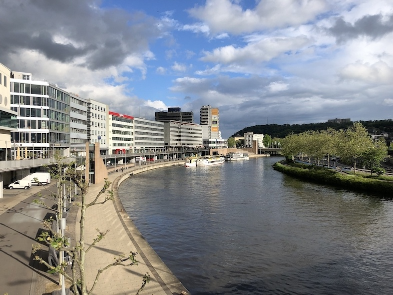 Saarbrücken is one neatest places to visit in Germany - Photo by MikesRoadTrip.com