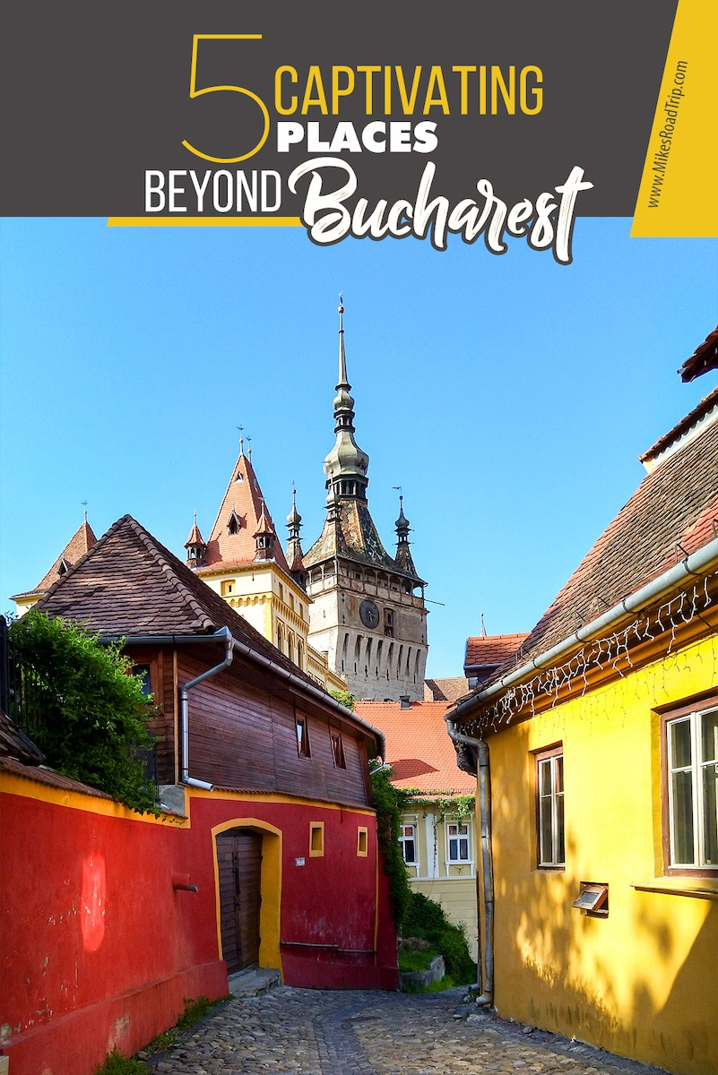5 incredible places beyond Bucharest