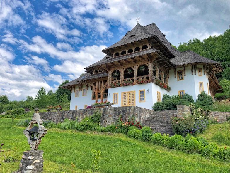 Bârsana Monastery in Maramureș