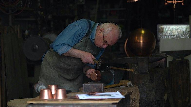 Montepulciano craftsman - Photo by: Mike Shubic of MikesRoadTrip.com