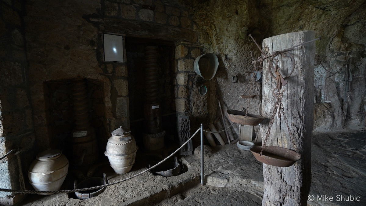 Museum in Civita di Bagnoregio by MikesRoadTrip.com