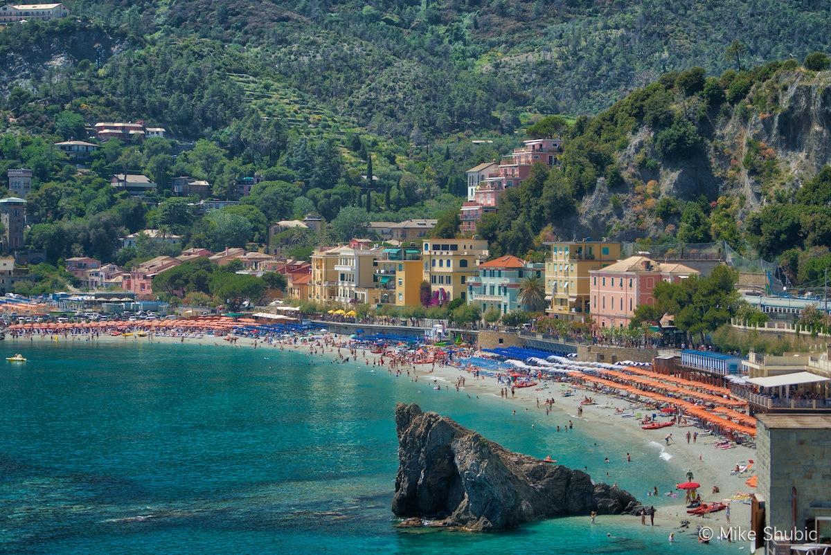 Monterosso al Mare in Cinque Terre by Mike Shubic of MikesRoadTrip.com