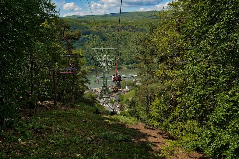 Niederwald Cable Car ride - Photo by MikesRoadTrip.com