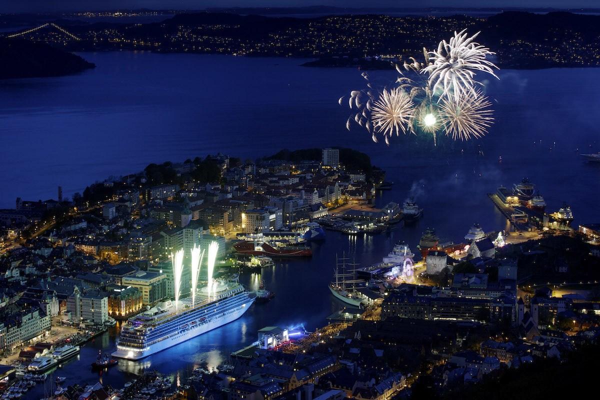 Viking Cruises in Bergen Norway