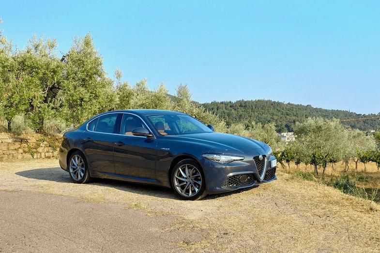 Tuscany Road Trip vehicle was the 2019 Alfa Romeo Giulietta