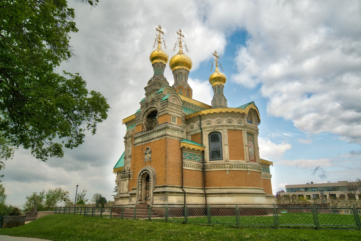 Russian Church in Darmstadt Germany. Photo by Mike of MikesRoadTrip.com