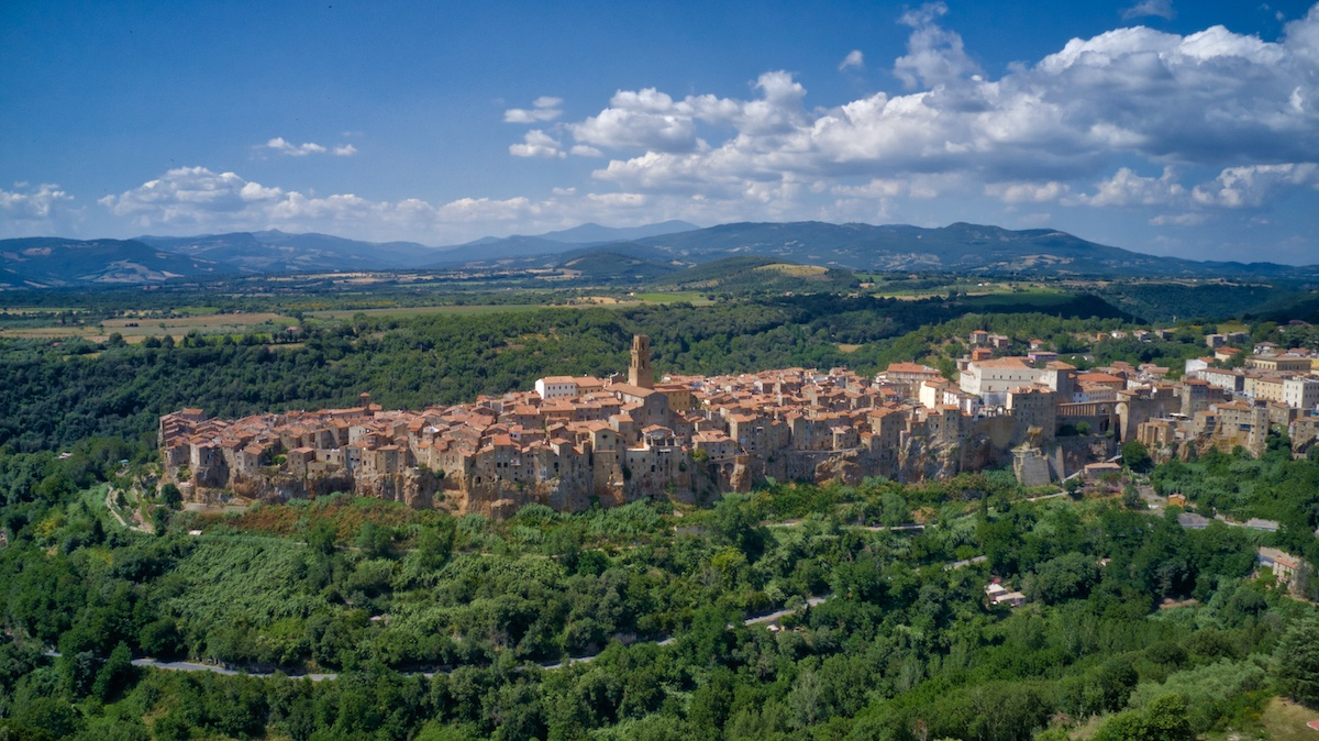 Pitigliano is more well known, but not so much to foreigners - Photo by: Mike Shubic