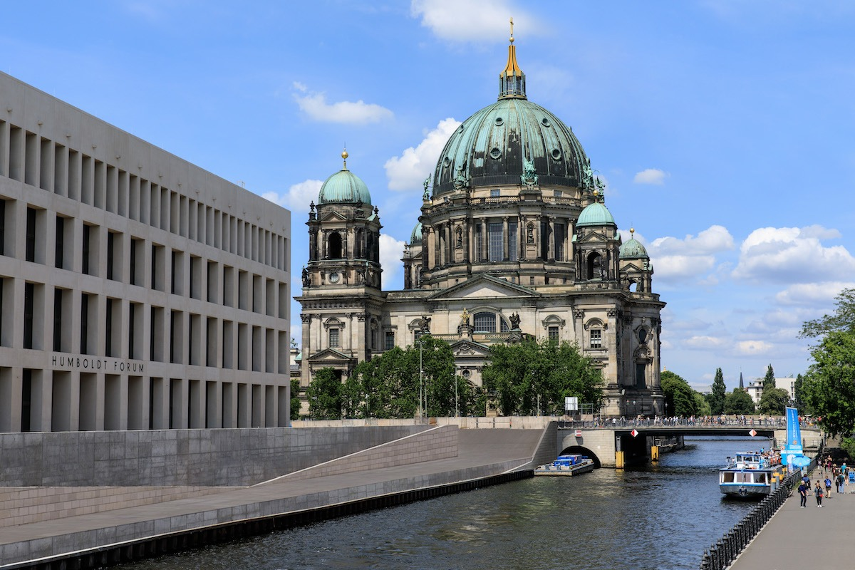 ROM_Humboldt Forum Berlin - view from Hotel de Rome