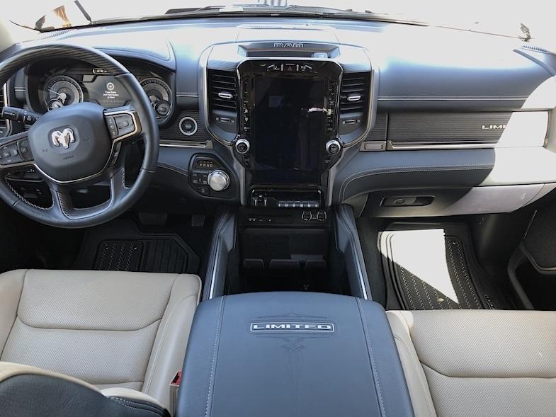 Dodge Ram 1500 Limited Crew 4x4 interior