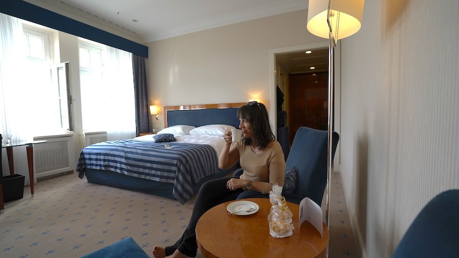 room at Hotel Fürstenhof Leipzig