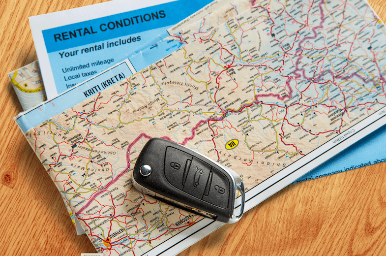 basics of renting a car in the USA