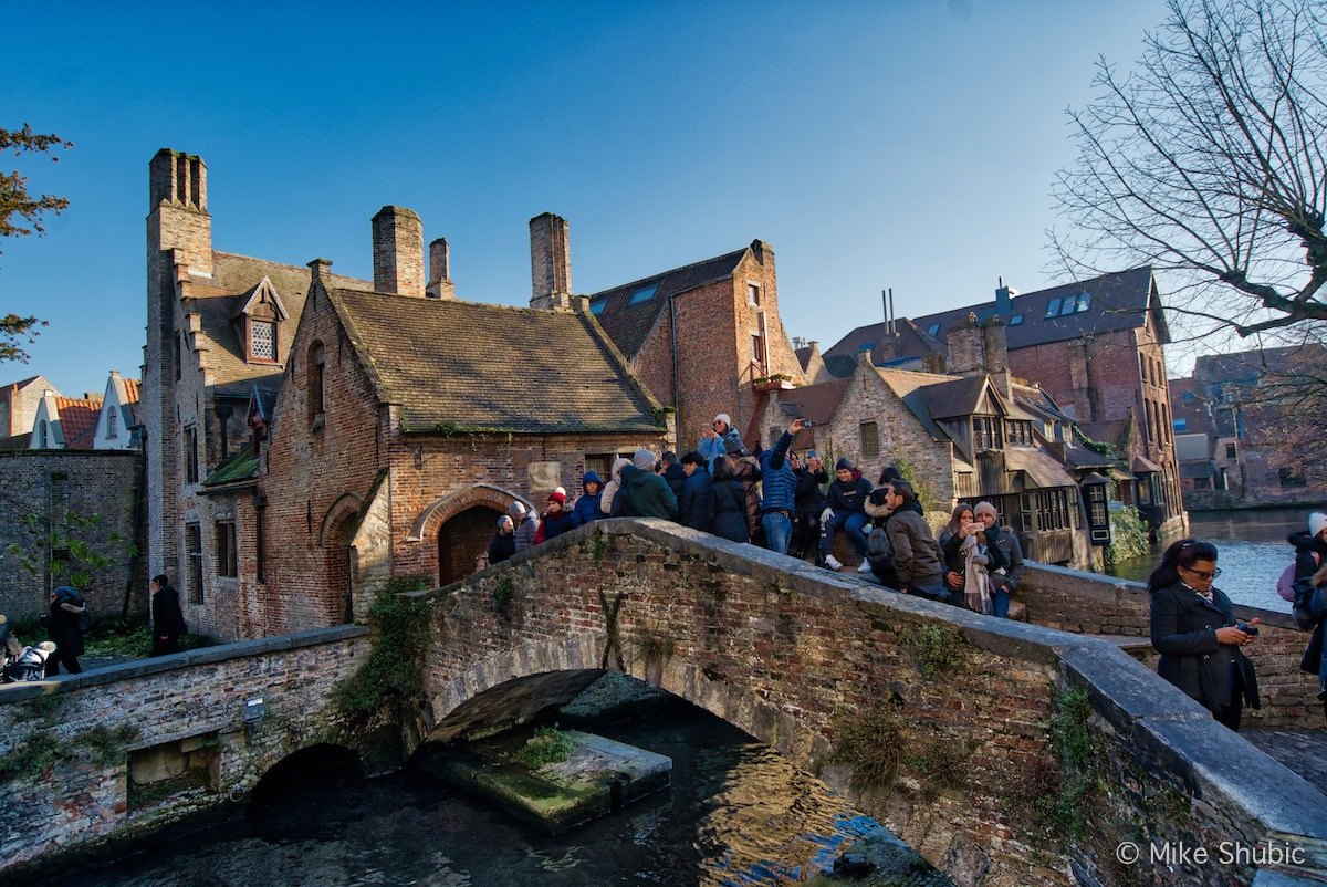 Bruges is probably the#1 best of Belgium - Photo by: Mike Shubic of MikesRoadTrip.com B