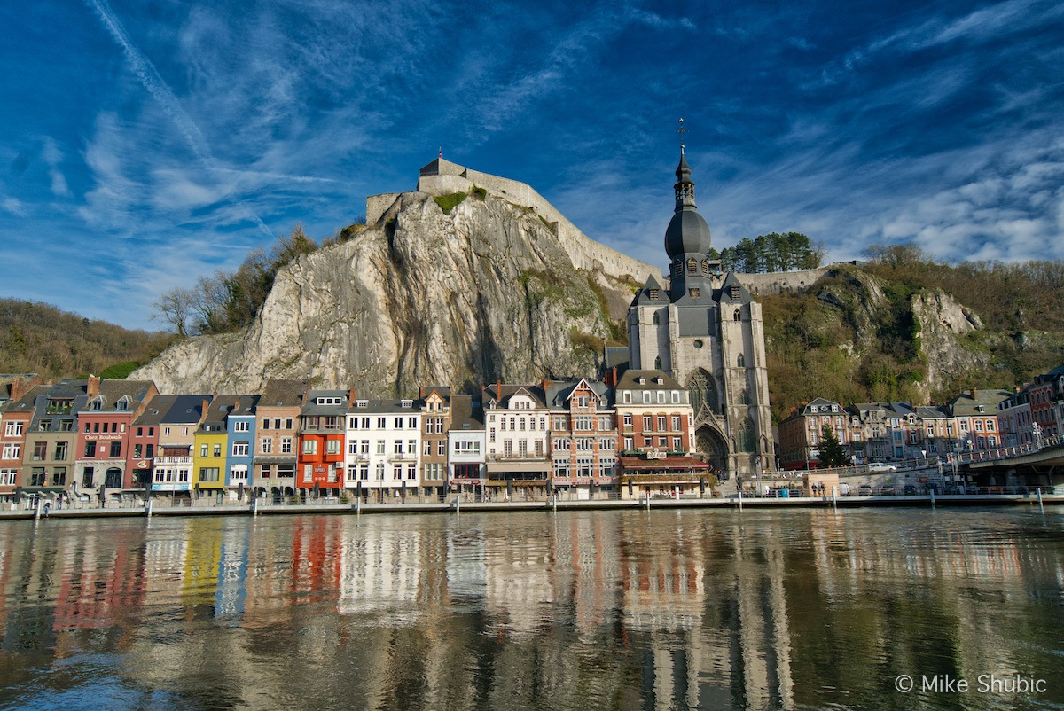 One of the surprise gems in Belgium is Dinant. Photo by: Mike Shubic of MikesRoadTrip.com