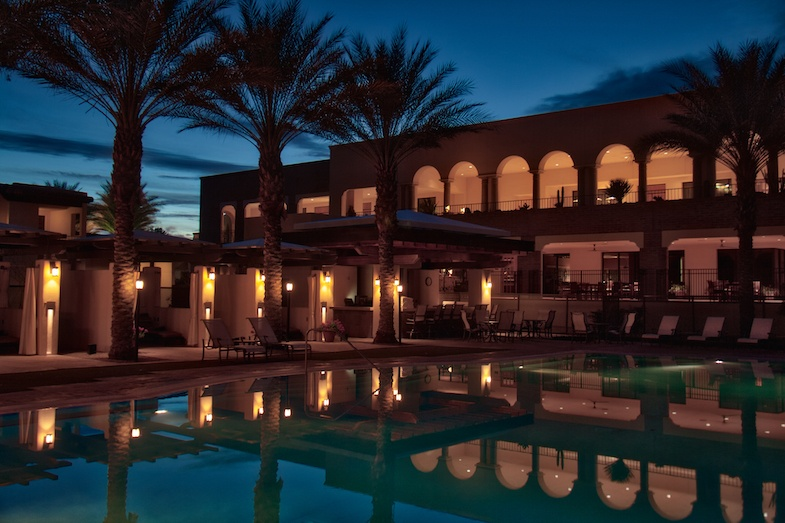 Omni Tucson resort pool is a great place to relax during a Southern Arizona Road Trip