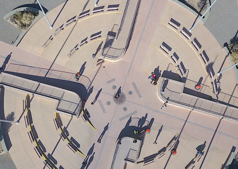 Four Corners aerial by Mike Shubic of MikesRoadTrip.com